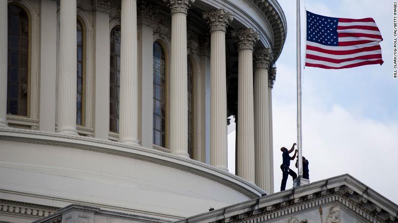 Capitol flags are at half-staff for Elijah Cummings  https://cnn.it/2MQ7QdT