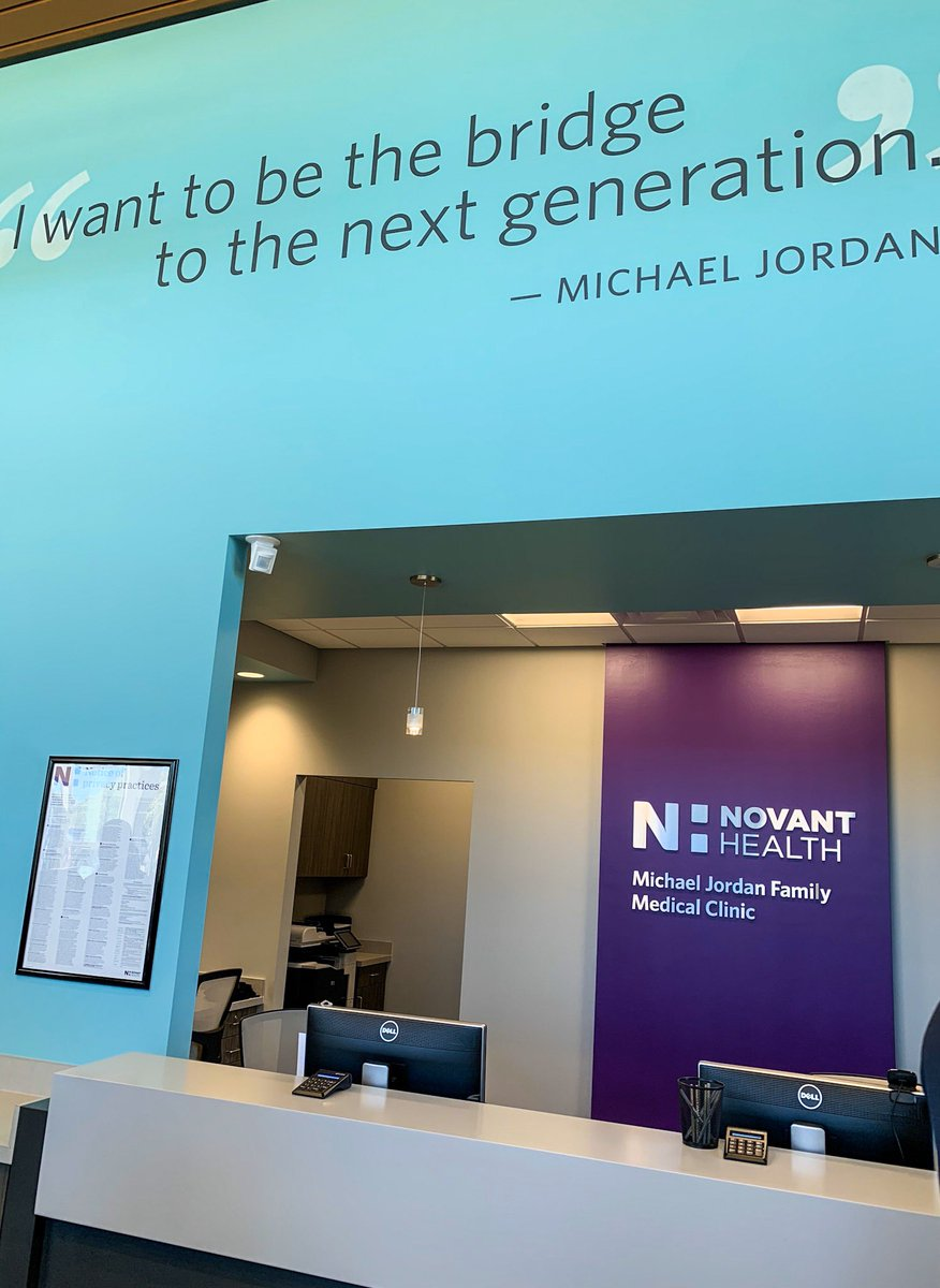 Michael Jordan opens clinic in North Carolina to serve the uninsured