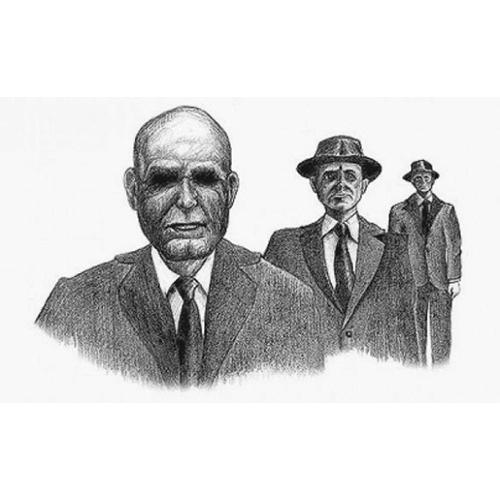 """Leyendas Legendarias on Twitter: """"Imágenes del episodio 33: Los Hombres de  Negro… """""""