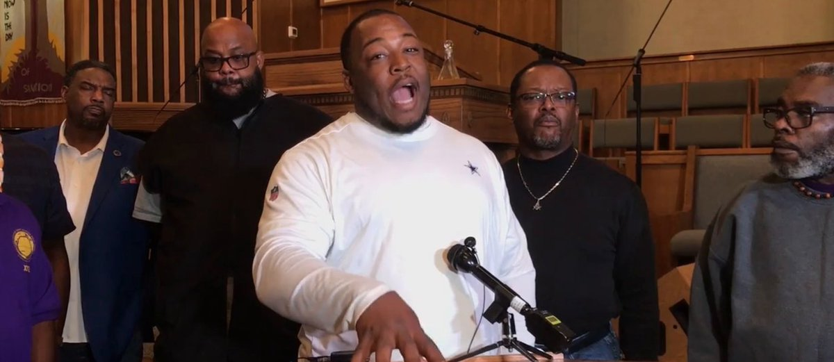 We're tired of this and it's going to stop. Leaders of the black religious community came together to express their anger and frustration. The shooting marked the seventh time since June 1 a Fort Worth police officer had shot a civilian. bit.ly/32ozZzt (2/3)