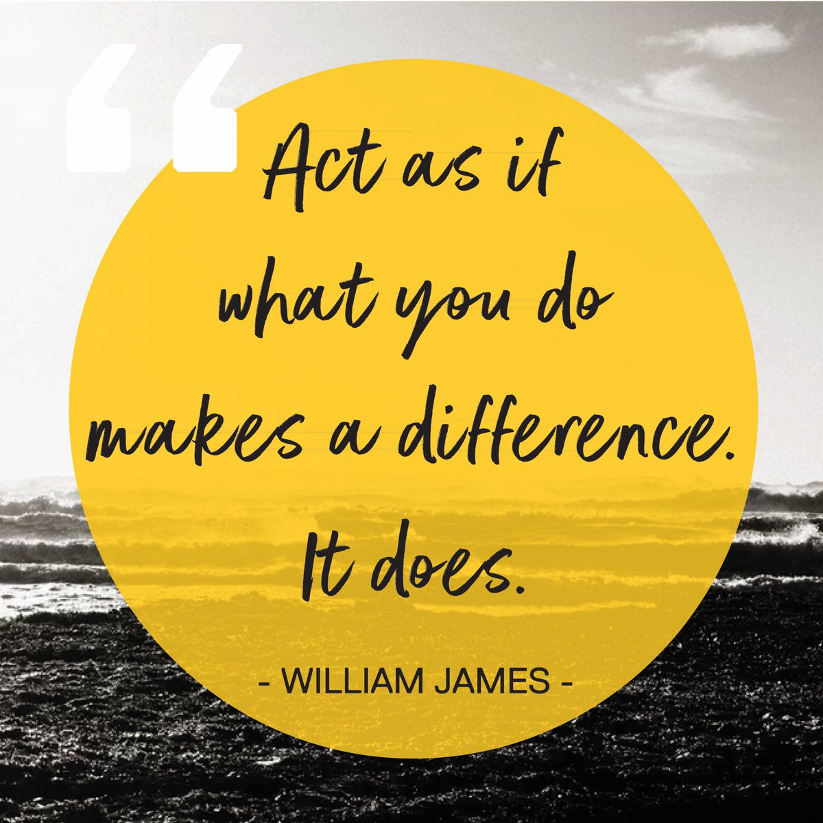 Every little thing makes a difference. #inspiration #inspiring #quote #MakeADifference