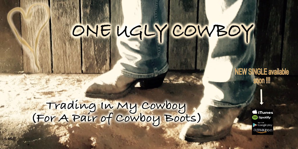 Our first single from our new EP will be released soon. 💛 An empowering song about drawing the line when it comes to cheatin!!! #TradingInMyCowboyForAPairOfCowboyBoots #byebye #NewSingle #countryrock #ONEUGLYCOWBOY #love