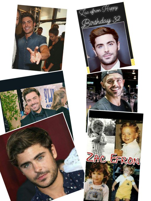 Zac efron happy Birthday 32