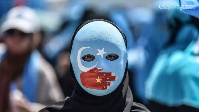 """Xinjiang is believed to be the largest-scale detention of religious minorities since World War II.   @CSISHumanRights explains how forced labor has become an integral part of the government's efforts to """"reeducate"""" Muslim minorities: https://t.co/NtzFR7KFWb https://t.co/95jUHeprnM"""