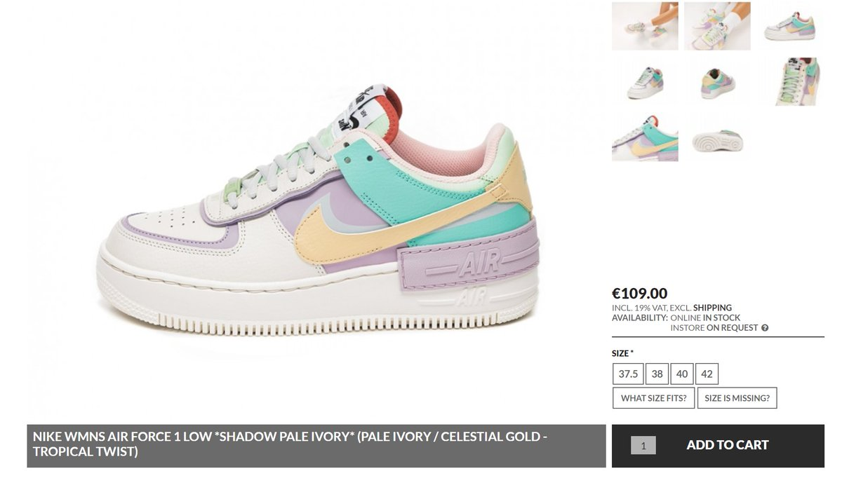 air force 1 shadow pale ivory italia