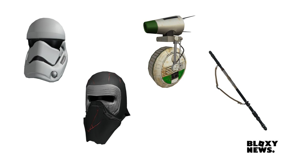 Bloxy News On Twitter Some Starwars Items Have Been Leaked On