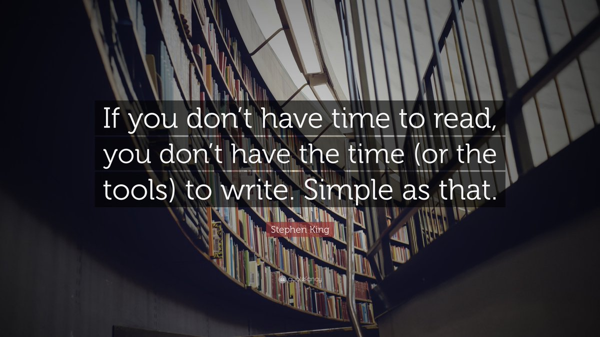 My all time favorite Stephen King quote @MrsPReading 📚📝📚