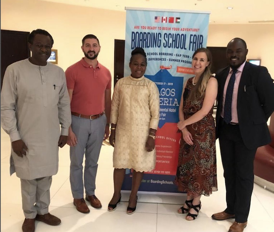 Thank you to ALTS Consulting and the US Consulate in Lagos for supporting the inaugural TABS fair in Nigeria!!