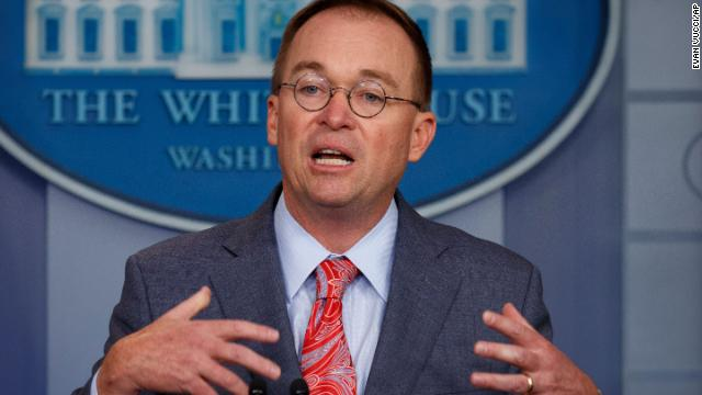 White House acting chief of staff Mick Mulvaney makes a stunning admission that Trump froze US aid to Ukraine to pressure the country into probing Democrats  https://cnn.it/2OY6Kzw