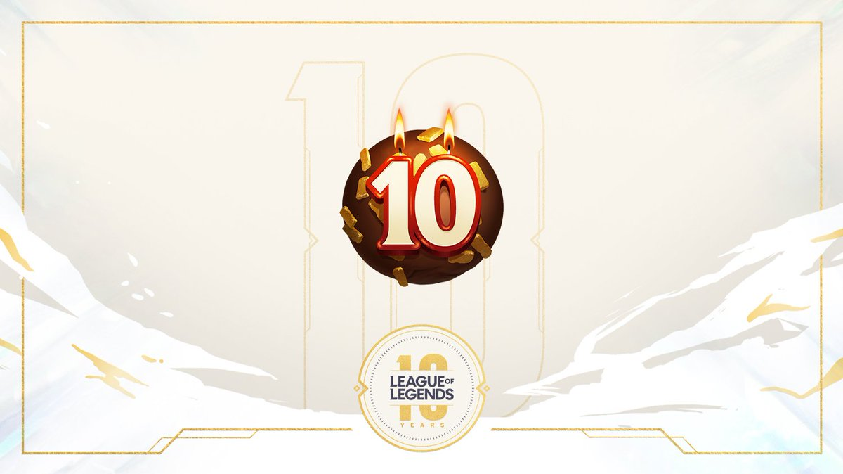 League Of Legends On Twitter Day 1 Of Anniversary Gifts