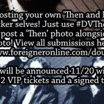 Image for the Tweet beginning: With 'Foreigner – Double Vision: