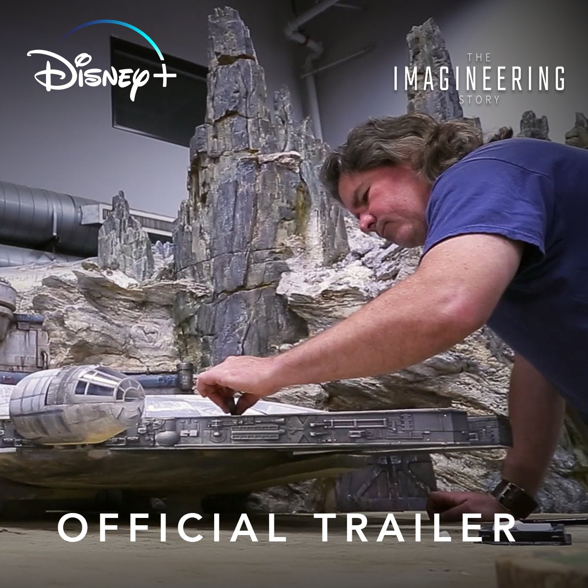 Behind-the-scenes of the Disney Parks dream. The Imagineering Story, an original series, streaming Nov. 12 only on @DisneyPlus. #DisneyPlus