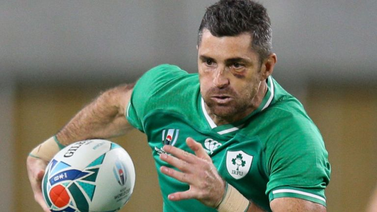 test Twitter Media - ICYMI: Rob Kearney starts at full-back for Ireland's #RWC2019 quarter-final against New Zealand with Peter O'Mahony given the nod at blindside flanker.  👉 https://t.co/Lq9VnREdeS #IREvNZL https://t.co/HaOFIfDqF7