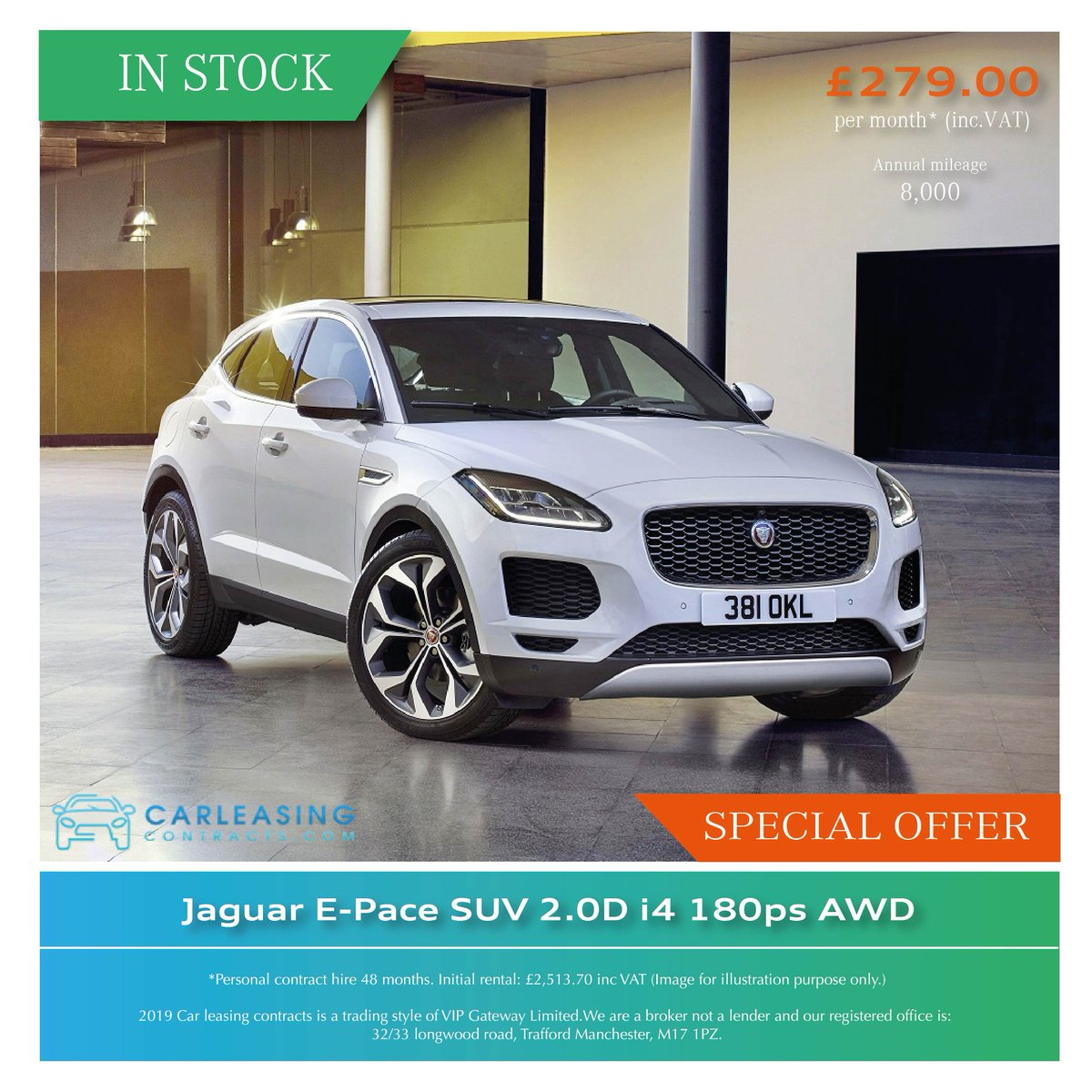 Just on to this amazing special offer before its too late, only a few of these are available in our stock. This Jaguar E-Pace is a truly one of the greatest SUVs to purchase. Get in touch for a quote!  #Jaguar #EPACE #AWD #jaguarsport #Luxurycars #Performance #SUV #InstaCarpic.twitter.com/YI02ejIcD7