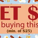 Image for the Tweet beginning: Flash BUYER Promo 🥓🍳  Get $2