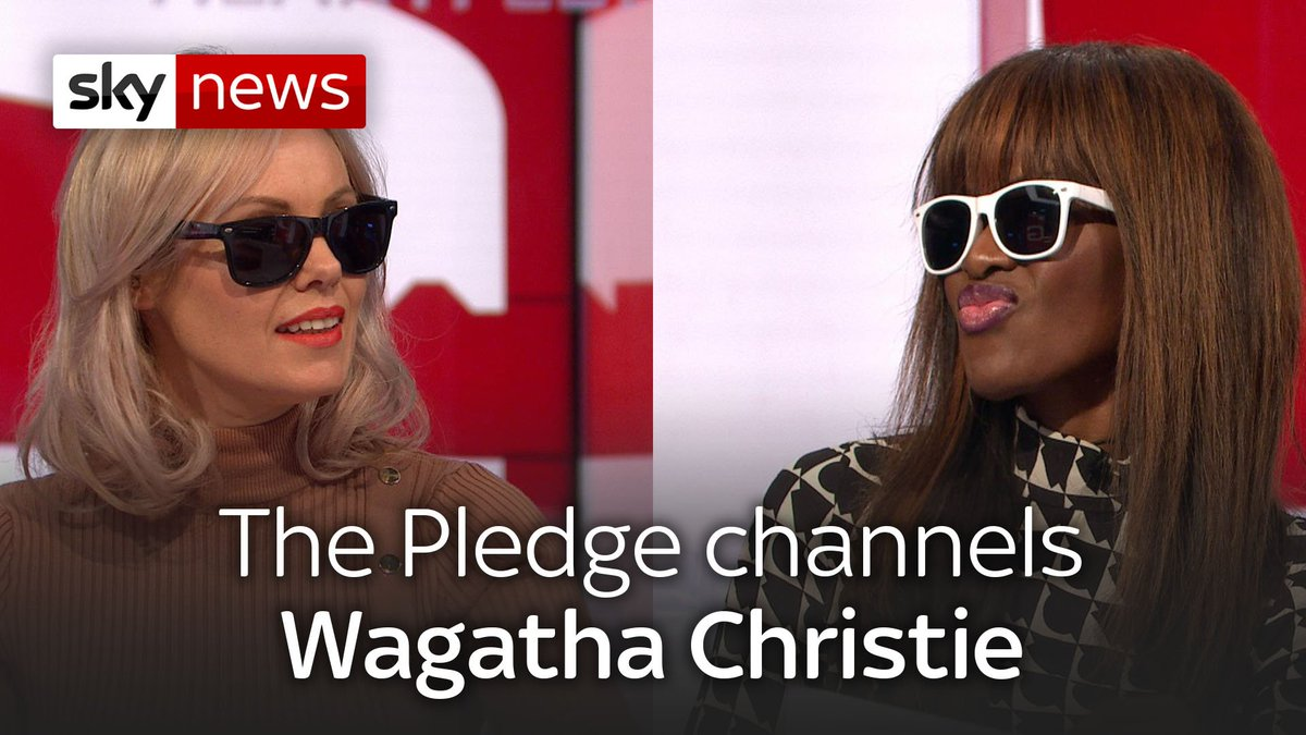 It's .......... The Pledge's accountOn tonight's show our panel will be looking at #WagathaChristie. @junesarpong and @MichelleDewbs have performed a dramatic reading to catch up those of you who missed the story that captivated social media last week #ThePledge