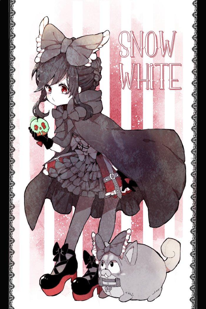 白雪おそちゃん、シニヨンに戻ってるのと黒タイツなのがめちゃくちゃにポイント高いシニヨンも黒タイツもめっかわいい