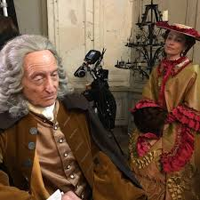 #LotteVerbeek as mid 18th century doctor (!) leaving her brilliant career (!!) to study History of Medicine on a remote Campus... The Belgian-Italian Movie #TheBookOfVision will probably hit the screens in 2020. #CharlesDance #SverrirGudnason #IsoldaDychauk.