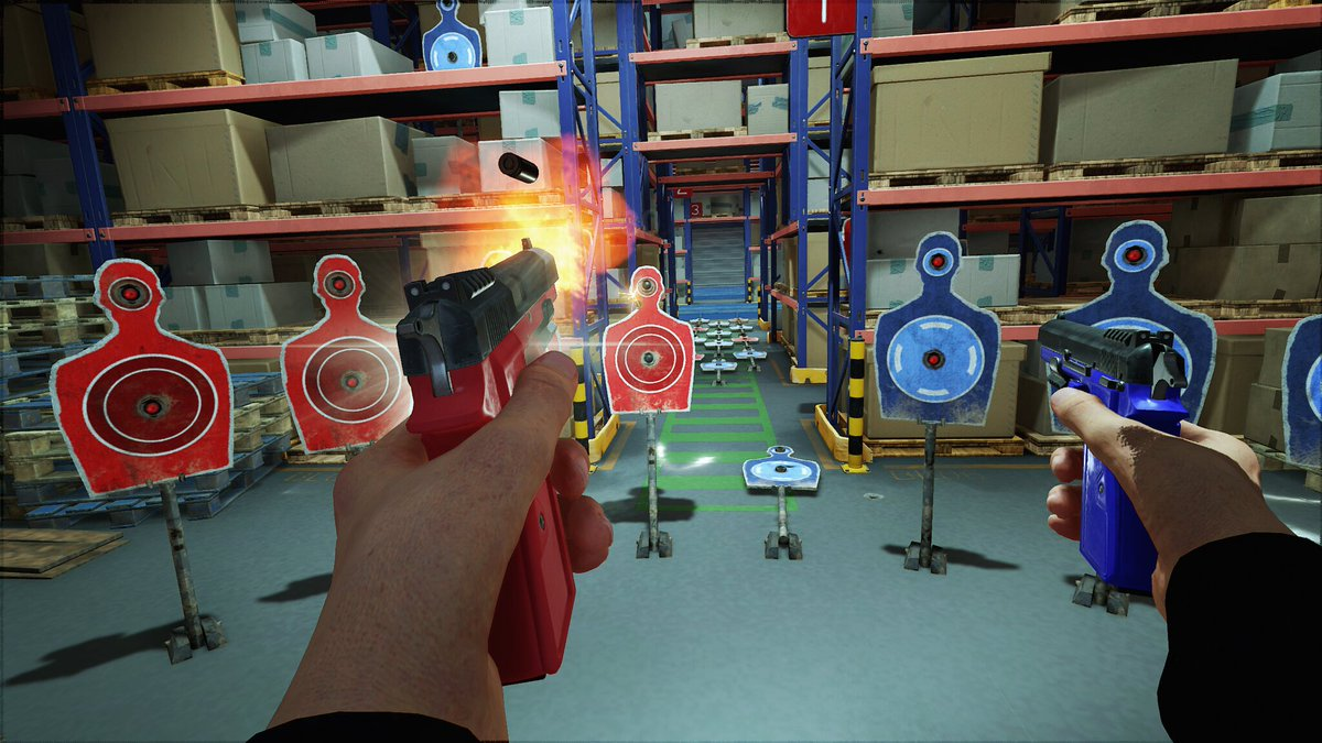 Perfect your quick draw with Blood & Truth's new Gun Skill Challenges. Available in-game now: https://play.st/2Bl3WV7 #PSVR