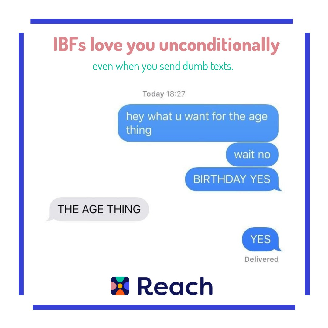 We've all been there Luckily our IBFs don't judge us, they just laugh at our dumb moments #Reach #IBF #ReachYourIBFs #IBFgoals #InternetBestFriendspic.twitter.com/Ubf68AgjLE