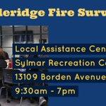 Image for the Tweet beginning: #SaddleridgeFire Local Assistance Center now