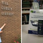 Image for the Tweet beginning: Visiting your local library? While