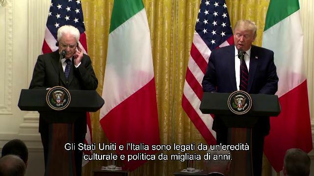 Casa Bianca, Trump a Mattarella allibito: 'Italia ...