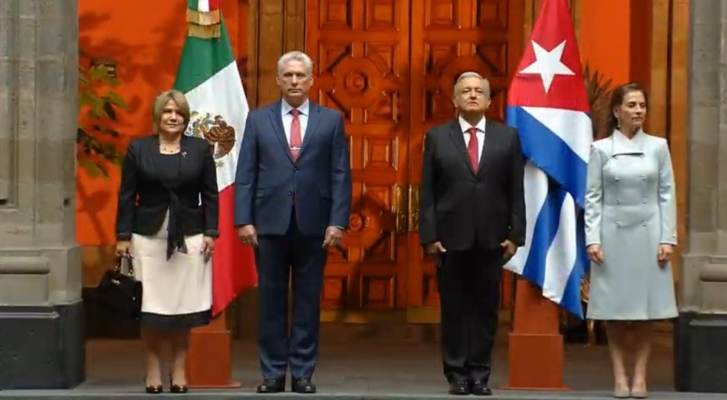 President of Mexico welcomes Diaz-Canel