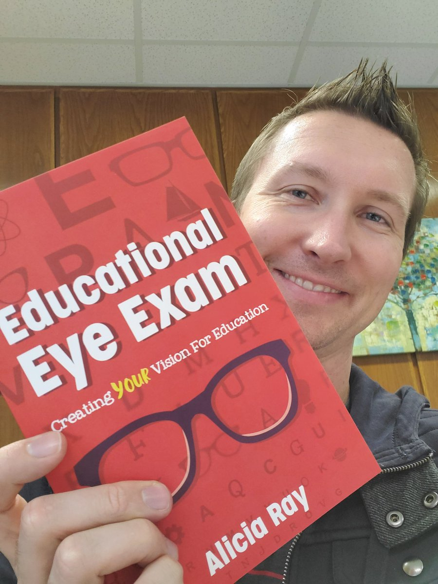 @iluveducating I finally get to read your book, #EduEyeExam. Can't wait.
