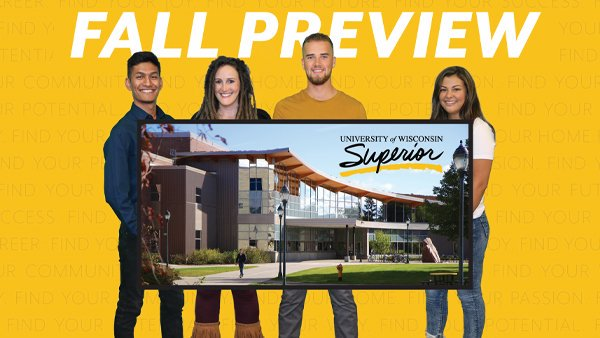 Join us for Fall Preview Days October 18-19. Preview Days offer students & their families a chance to tour the campus, hear from students & experience UW-Superior! https://t.co/tfdcmAAhEZ https://t.co/OTzdujzoEy