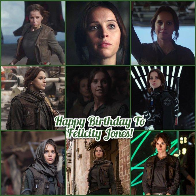 Happy Birthday To Felicity Jones!