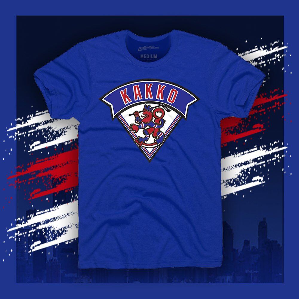 If Kakko scores tonight RT and Follow for a chance to win this tee from  http:// WeBleedBlue.com     !    https:// webleedblue.com/search?q=Kakko     <br>http://pic.twitter.com/dRNb9xAD3N