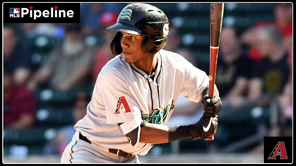 I feel super excited about it ... I feel super happy about it ... Im very happy ... 19-year-old #Dbacks prospect Geraldo Perdomo is thoroughly enjoying his time in the @MLBazFallLeague. And why not? As the AFLs 6th-youngest player, hes shining: atmlb.com/35Nkzaf