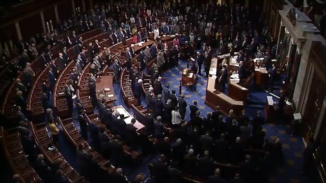 WATCH: US House observes a moment of silence in honor of the late Rep. Elijah Cummings.