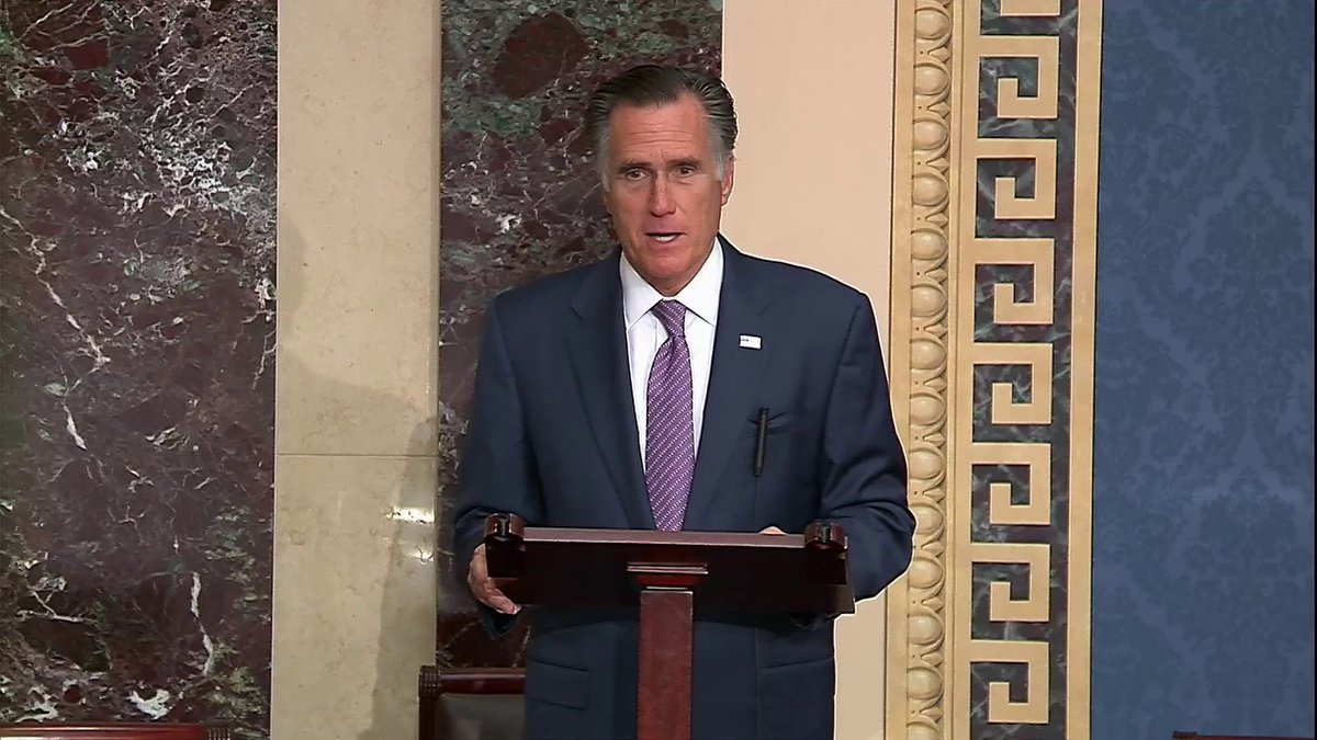 "WATCH: Sen. Romney: ""What we have done to the Kurds will stand as a blood stain in the annals of American history."""