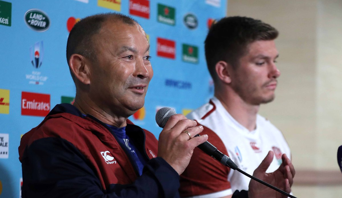 test Twitter Media - England head coach Eddie Jones says George Ford's role from the bench will be crucial in Saturday's Rugby World Cup quarter-final against Australia.  👉 https://t.co/baIaQ2qcBV #ENGvAUS https://t.co/Xgkd4gtqVm