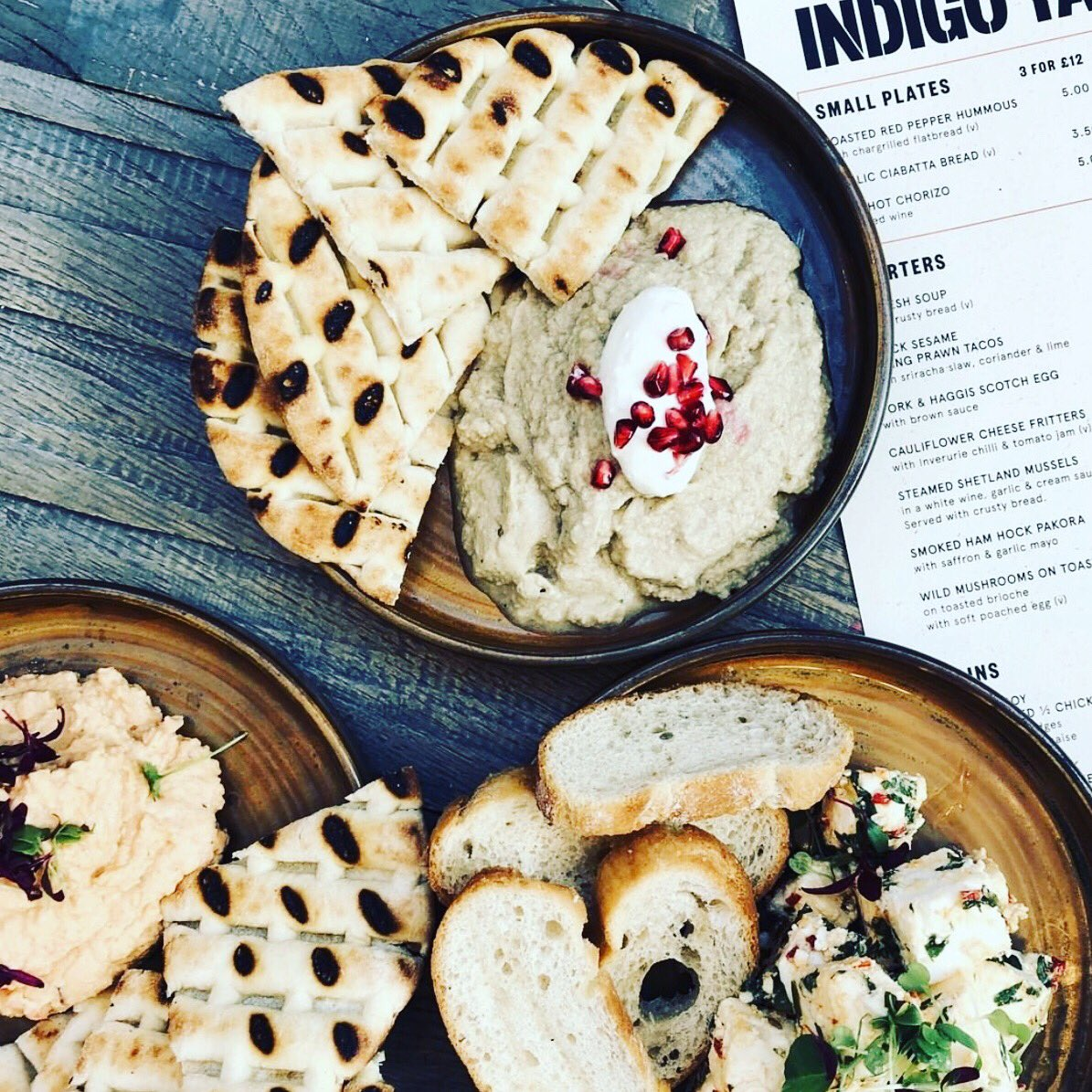 Sharing is caring 🍽👌🏻@IndigoYard sharing plates are three for £12!   #edinburghswestend #edinburgh #thisisedinburgh #edinburghlife #edinburghfoodie #edinburghcity #visitscotland #scotland