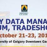 Image for the Tweet beginning: The @PPDMAssociation Data Management Symposium
