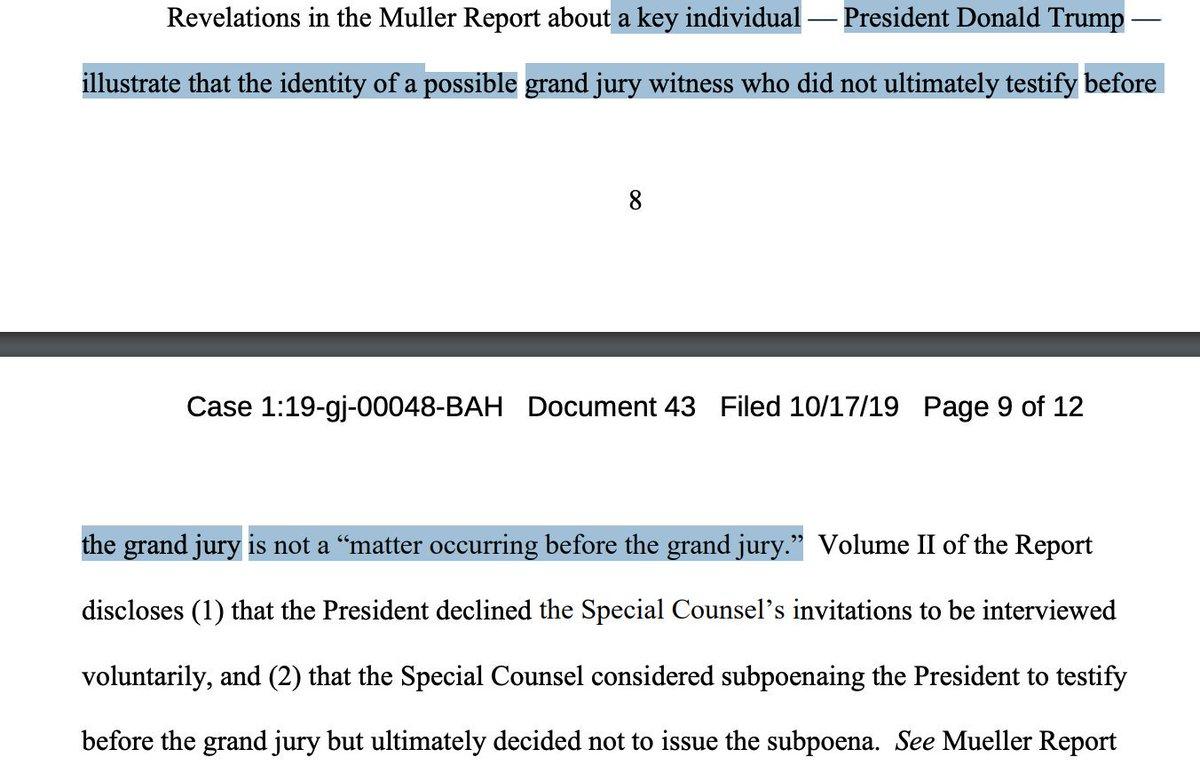 DOJ Confirms Don McGahn, Trump Jr. Did Not Testify Before Mueller Grand Jury