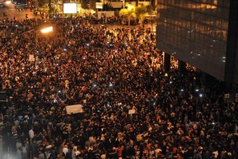 Protests erupt in Lebanon over plans to impose new taxes