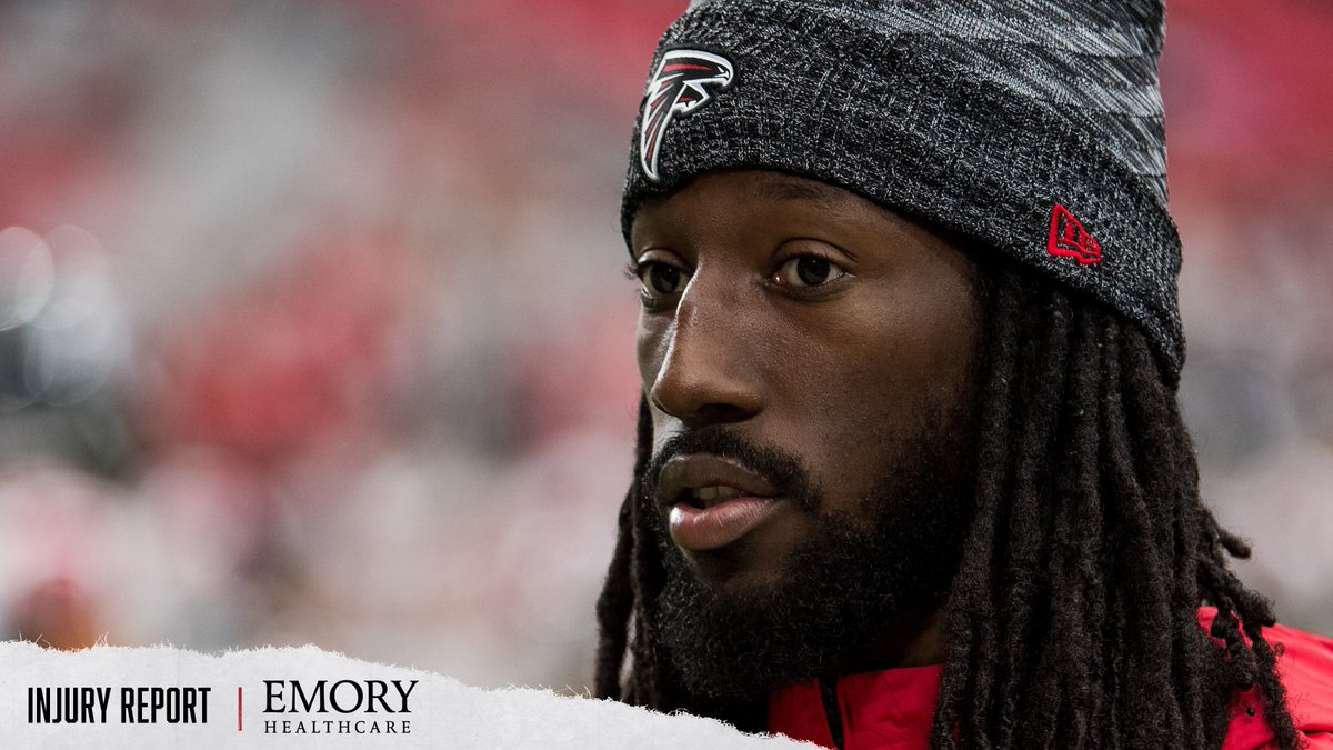 Desmond Trufant and James Carpenter did not practice today. 📝Injury Report - atlfal.co.nz/35Muw7Q