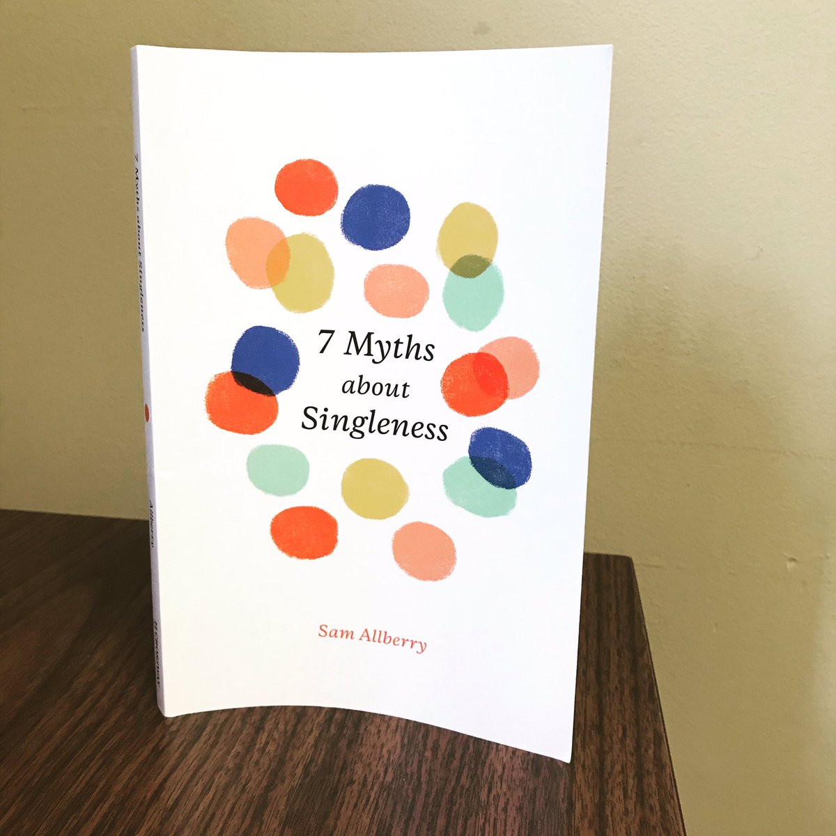 Whether you are single or married, older or younger, whether you are a new Christian or have been a Christian for years, whether you know nothing about what the Bible says about singleness or think you already know what the Bible says - you NEED to read this book by @SamAllberry!