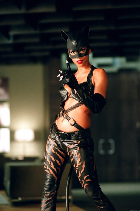 yall really slept on halle berry as cat woman + i don't appreciate that shit.