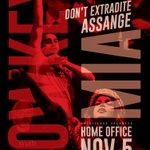 Pls RT: Everyone invited #HomeOfficeGig 2 Marsham St - Nov 5th 6pm #FreeAssange @Lowkey0nline + @MIAuniverse  Don't extradite Assange #OpNov5th #Op5thNov #MillionMaskMarch  @wikileaks @WLArtForce @AssangeMrs @couragefound @birgittaj @pamfoundation @auerfeld  Art by @SomersetBean