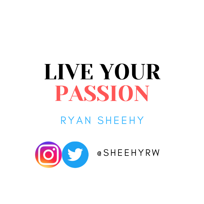 Live your passion. If you are not passionate about your life, it is time for a change. #BeTheOne
