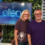 Image for the Tweet beginning: Happy #SpiritDay from @TheEllenShow! @MaryConnelly