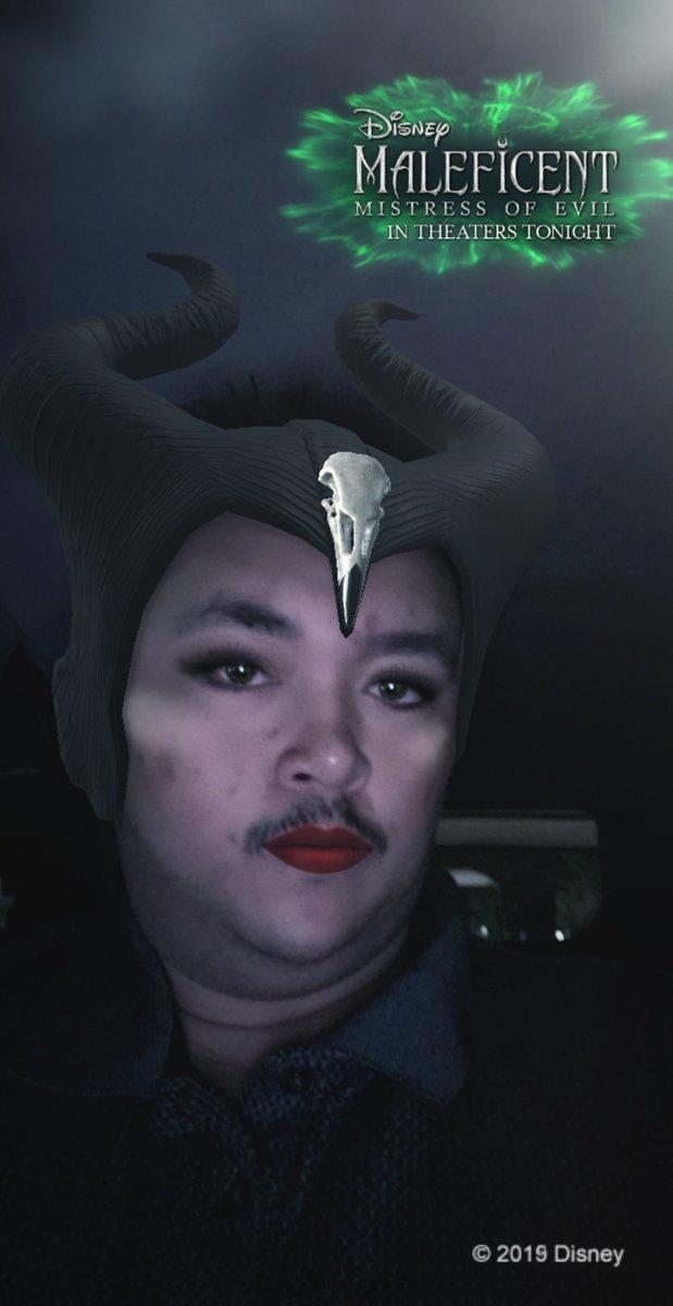 I'm ready for my close up #Maleficent2 #beberexha #snapchatfilter