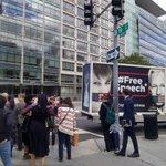 Washington DC today. #FreeAssange #FreeManning