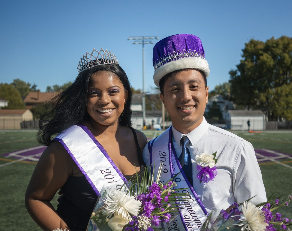Homecoming royalty on their campus impact and crowning  Seniors Dominique McIntyre and Ishan Thapa were crowned homecoming royalty this past weekend.  Read here to learn more about what this honor means to them: https://buff.ly/2oEuZs0  #CapFam #Homecoming2019 @Capital_U