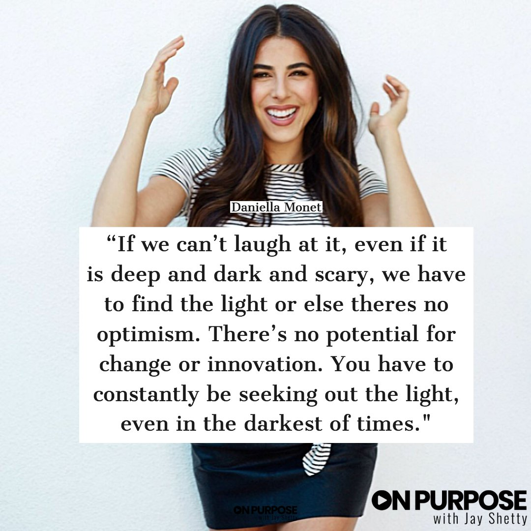In this episode of On Purpose actor and activist @DaniellaMonet  discussed body image, eating disorders and self love. Listen now!  iTunes:  https://apple.co/2VPPWek   Spotify:  https://apple.co/2VPPWek   SoundCloud:  https://apple.co/2VPPWek